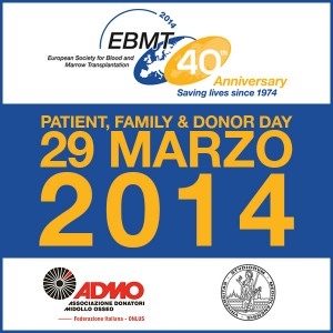"ADMO partecipa al ""Patient, Family and Donor Day"" 2014"