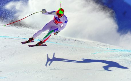 Alpine Skiing Men Downhill training