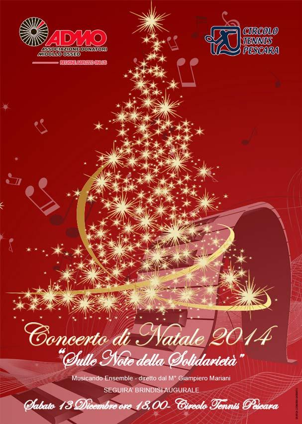 Concerto di Natale a Pescara. Sulle note della solidarietà