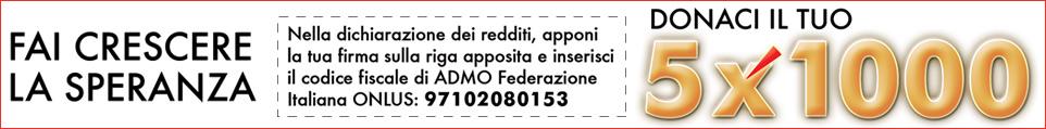 5×1000 A TE COSTA NULLA, PER NOI VALE UN ANNO DI PROGETTI