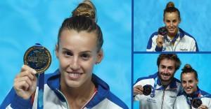 La nostra fantastica Tania Cagnotto è oro nei tuffi ai Mondiali di Kazan ed anche doppio bronzo.