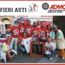 Gli Alfieri American Football Team testimonial per l'ADMO