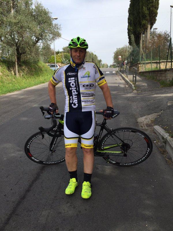 Paolo Belli ciclista ADMO