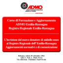 Corso di Formazione e Aggiornamento ADMO Emilia-Romagna